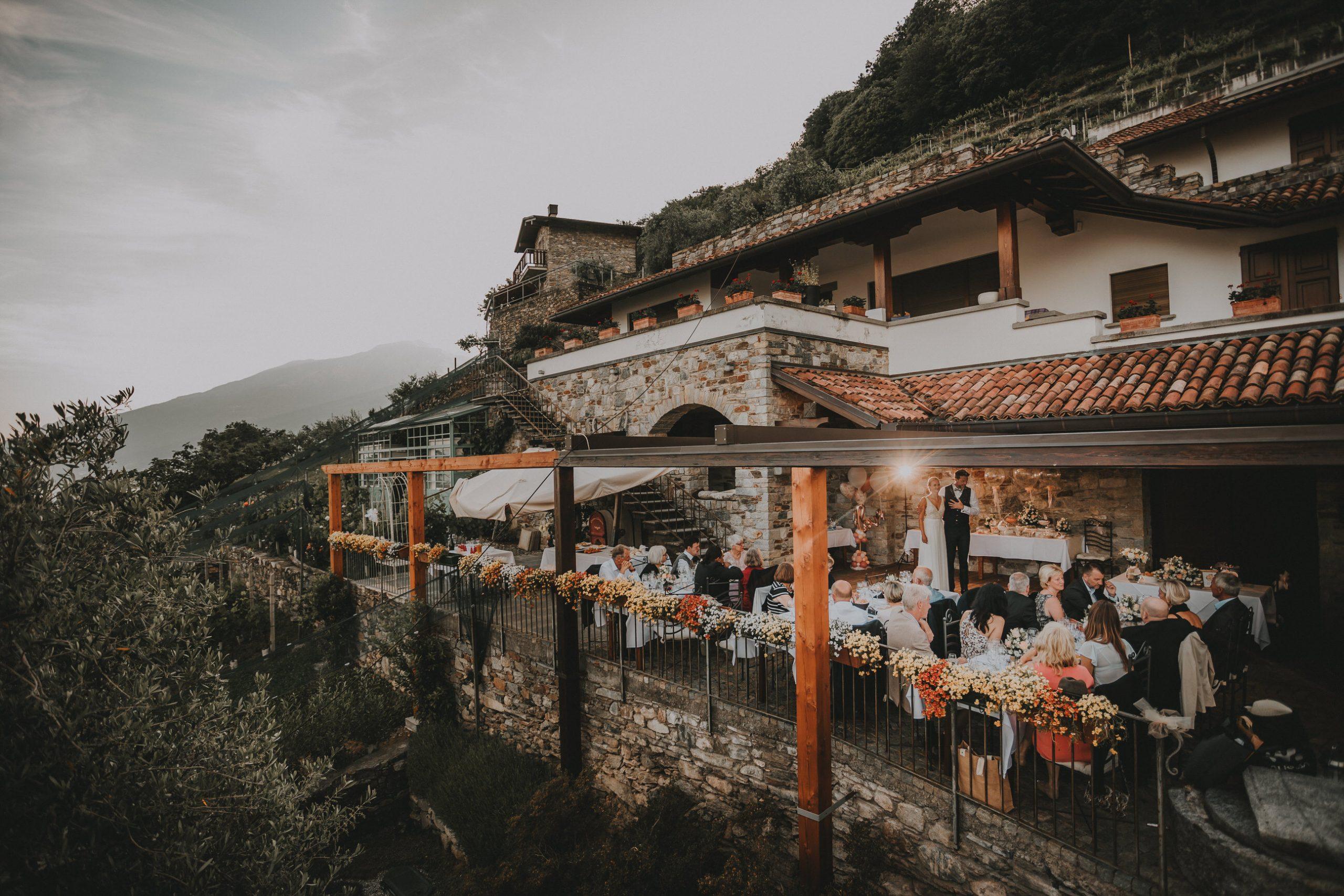 Hochzeit am Comer See |Weingut Sorsasso